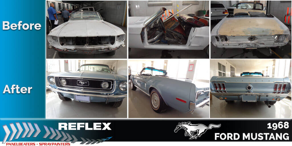 reflex panelbeaters & spraypainters restorations & customisations